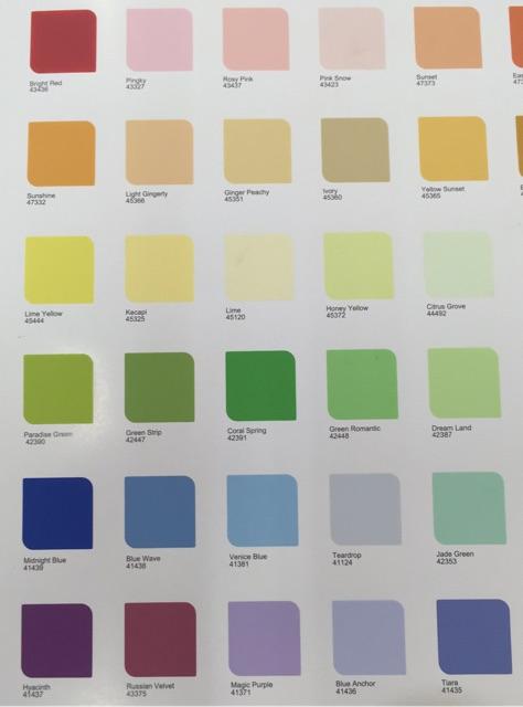 Macam Macam Warna Cat : macam, warna, Macam, Warna, Dulux, Catylac,, Rumah