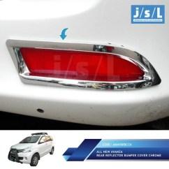 Lampu Reflektor Grand New Avanza All Kijang Innova Bumper Belakang Type G Chrome Shopee Indonesia