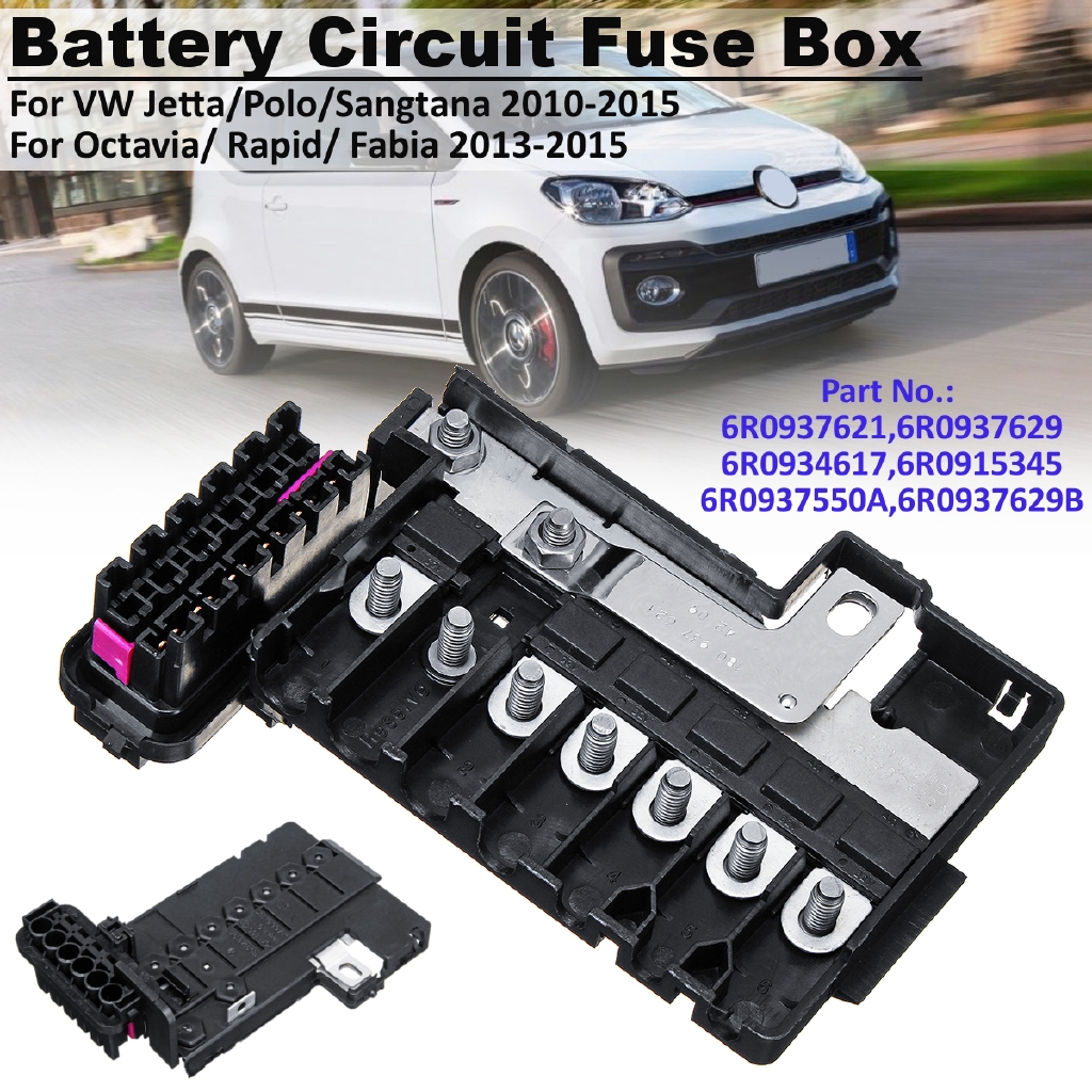 hight resolution of battery circuit fuse box for vw jetta polo sangtana octavia rapid fabia 13 15