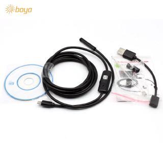 8mm 6LED Endoscope Borescope Snake Inspection Smart Phone