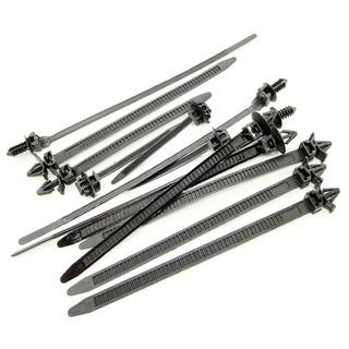 100pcs Set Mixed Cable Tie Bundled Car Wire Harness Line