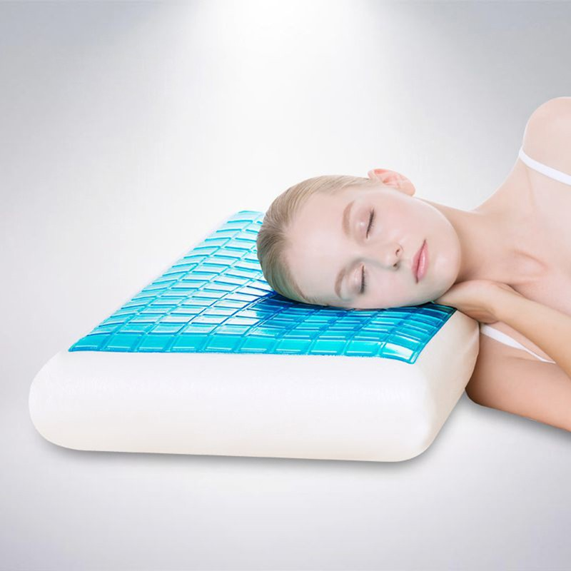 cooling gel bamboo memory foam pillow
