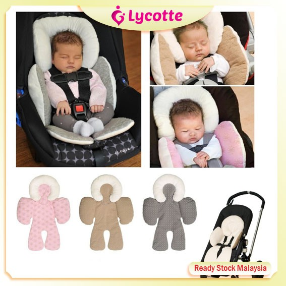 malaysia jj cole baby head body support pillow car seat stroller pad baby pillow comfortable