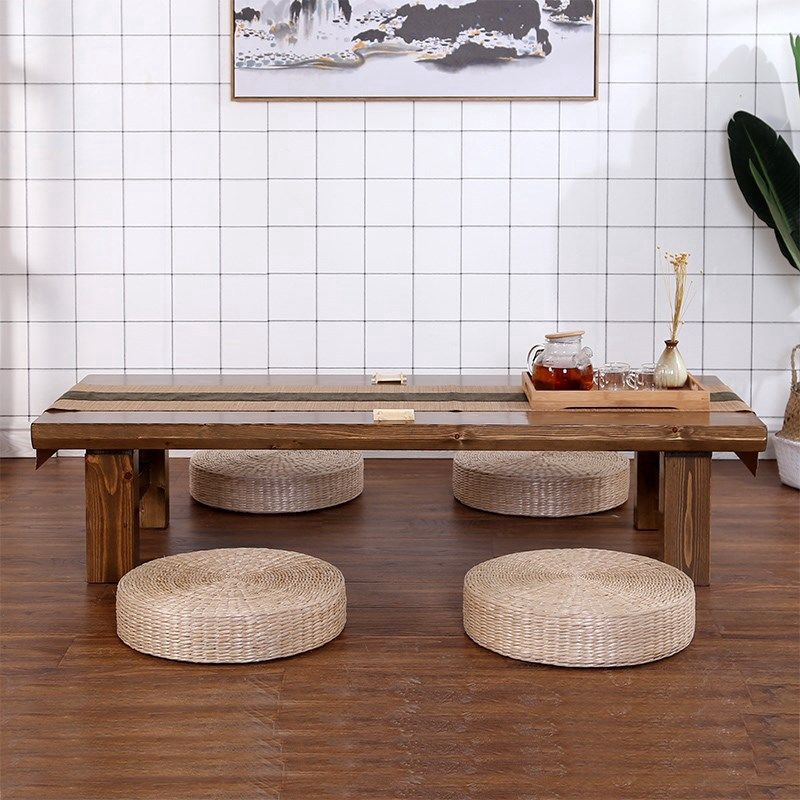 ground sitting low table japanese modern simple floor tatami small coffee table long table easy to eat table