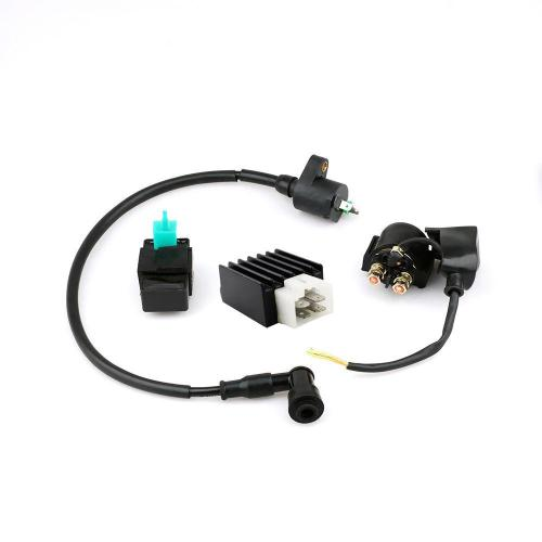 small resolution of for 90cc 110cc 125cc atv dirt bike cdi box coil solenoid regulator assembly kit shopee malaysia