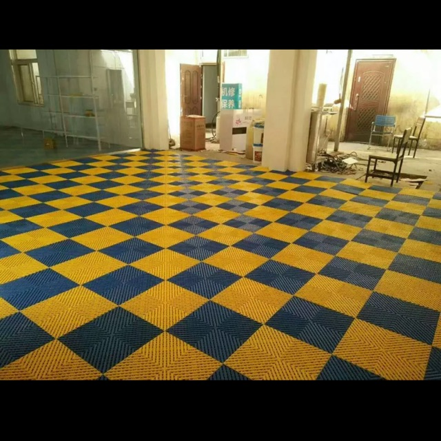 pvc floor tiles interlocking floor tiles car wash shop floor repair workshop floor