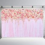 Romantic Rose Flower Photography Backdrops Background Wedding Decorations