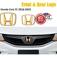 honda city 2017 2018 type r front rear logo badge emblem red black shopee malaysia [ 1024 x 1024 Pixel ]