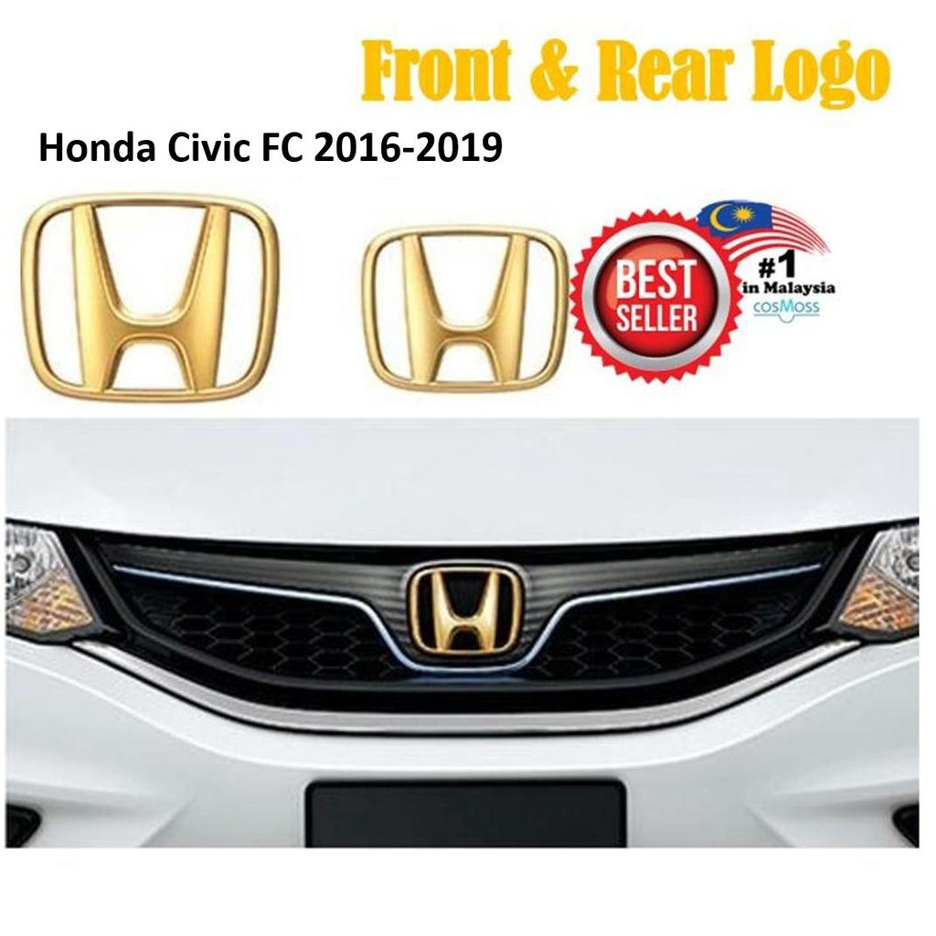 hight resolution of honda city 2017 2018 type r front rear logo badge emblem red black shopee malaysia