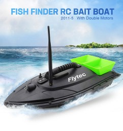 fish finder fish boat 1 5kg loading 500m remote control fishing bait boat rc boat shopee malaysia [ 1000 x 1000 Pixel ]