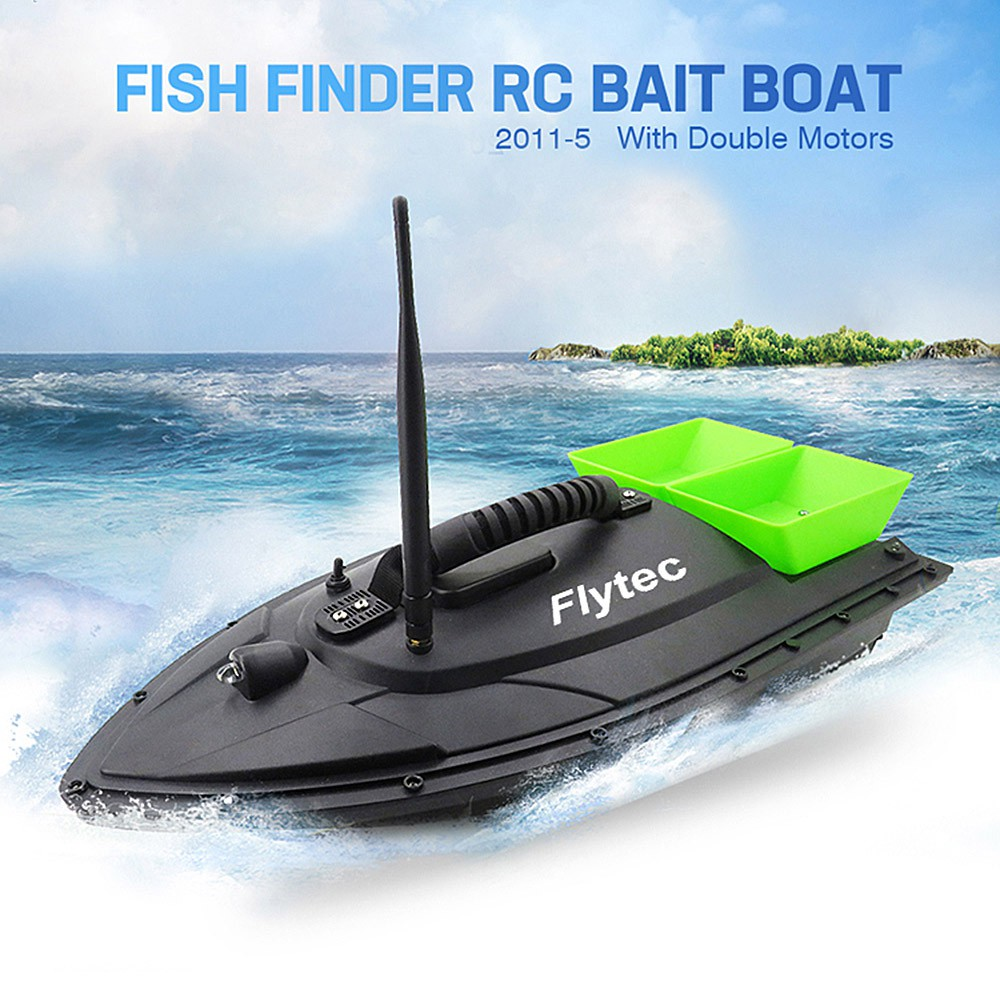 medium resolution of fish finder fish boat 1 5kg loading 500m remote control fishing bait boat rc boat shopee malaysia