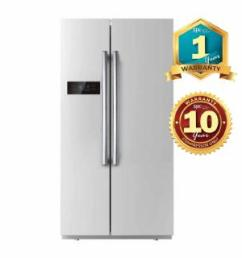 daewoo refrigerator fpn x580se 525l side by side fridge [ 1024 x 1024 Pixel ]