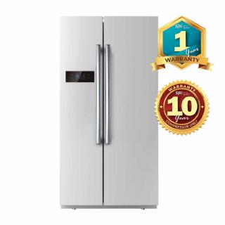 hight resolution of daewoo refrigerator fpn x580se 525l side by side fridge