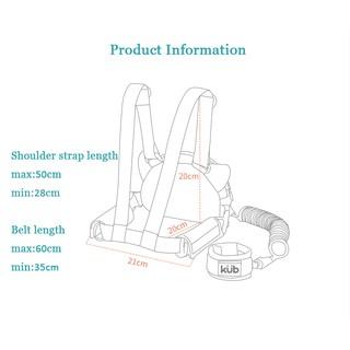 KUB baby comfortable wrist walking safety link carriage
