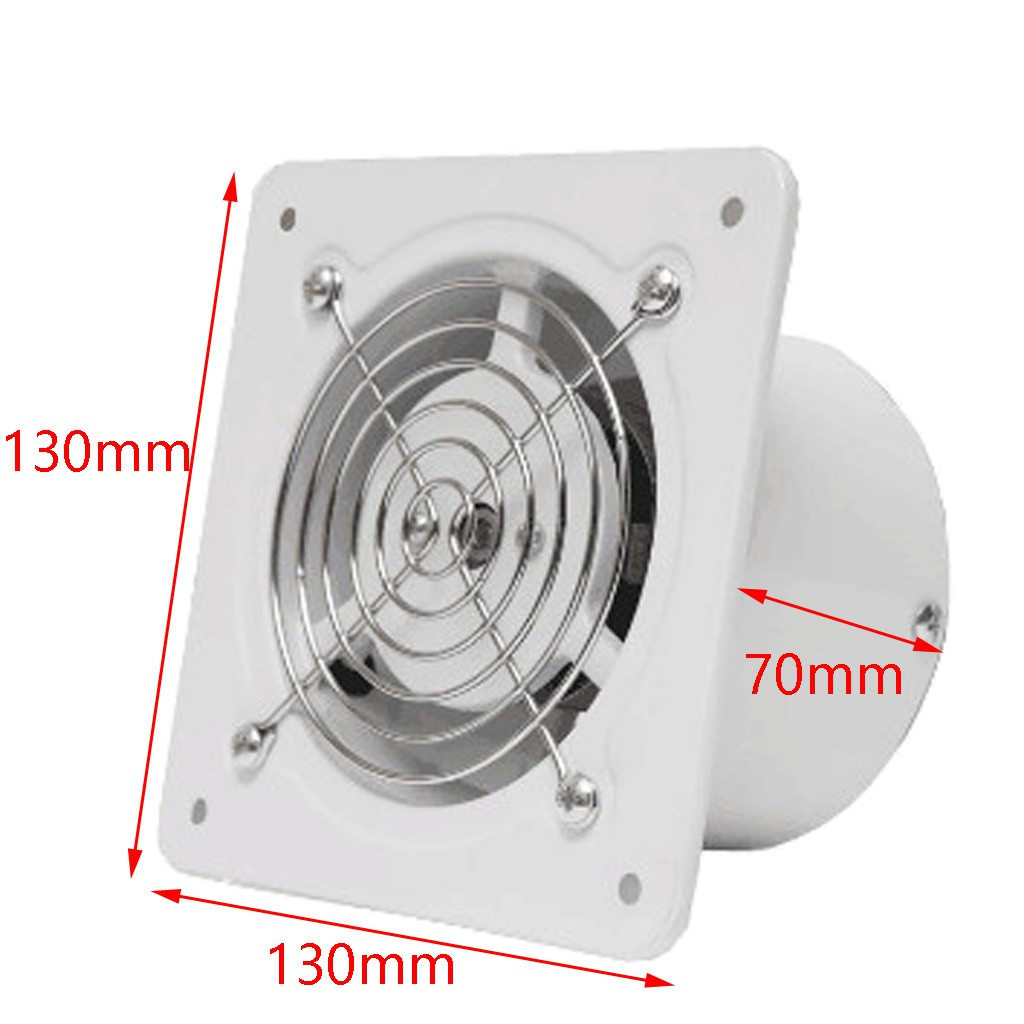4inch 25w mini inline duct pipe booster fan ventilation exhaust air blower