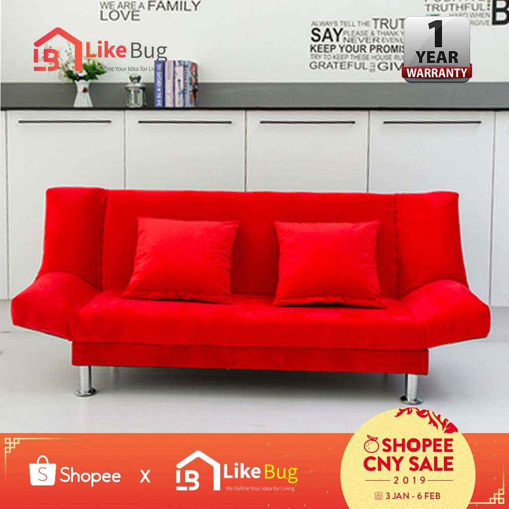 sofa bed for baby philippines round daybed buy furniture online home living shopee malaysia