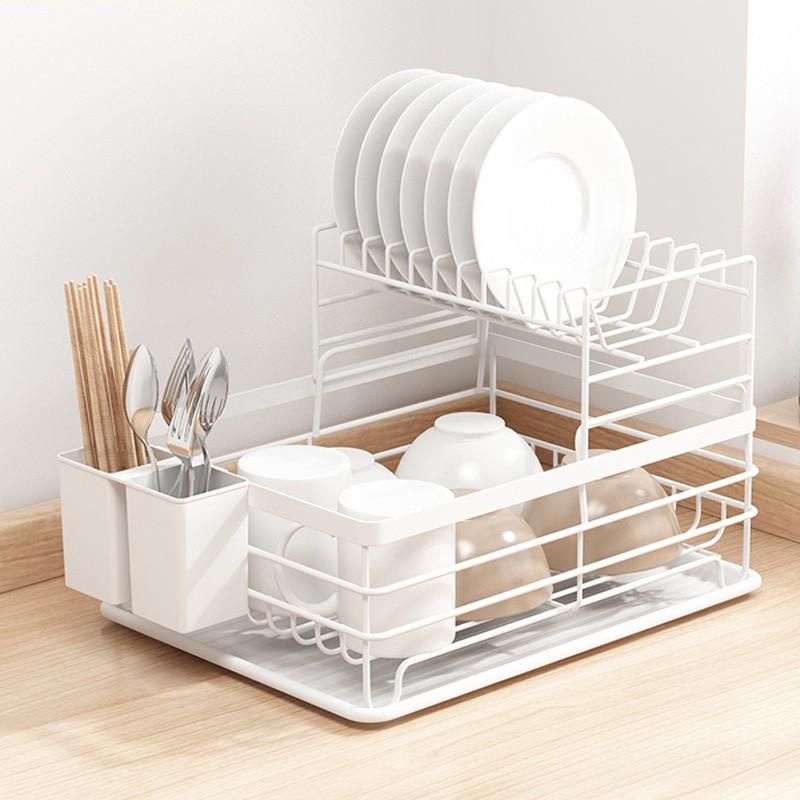 ikea style kitchen drain basket multifunctional dish rack nordic wrought iron extra large rack storage storage leaky retro
