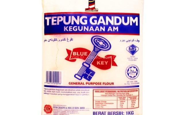 Tepung Gandum Blue Key 1kg X 10 Shopee Malaysia Cute766
