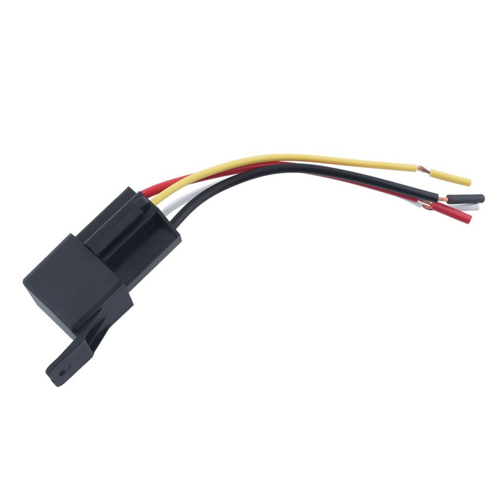medium resolution of ready stock 4pcs auto car waterproof 12v 50a 4pin amp relay w wires harness