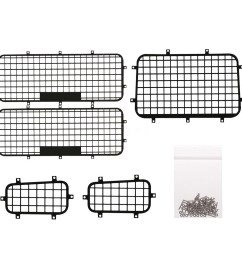 rcfans 5pcs window mesh protective net metal for 1 10 traxxas trx4 rc crawler ca shopee malaysia [ 1000 x 1000 Pixel ]