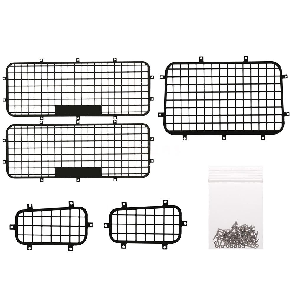 medium resolution of rcfans 5pcs window mesh protective net metal for 1 10 traxxas trx4 rc crawler ca shopee malaysia