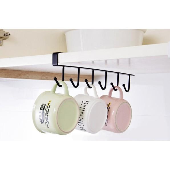 cup holder under cabinet coffee cup mug holder for kitchen