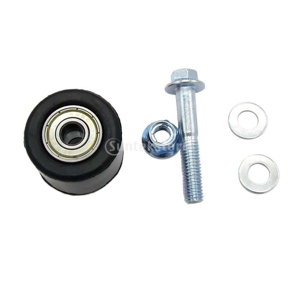 medium resolution of 8mm chain roller tensioner pulley wheel guide for yamaha yfz 350 banshee shopee malaysia