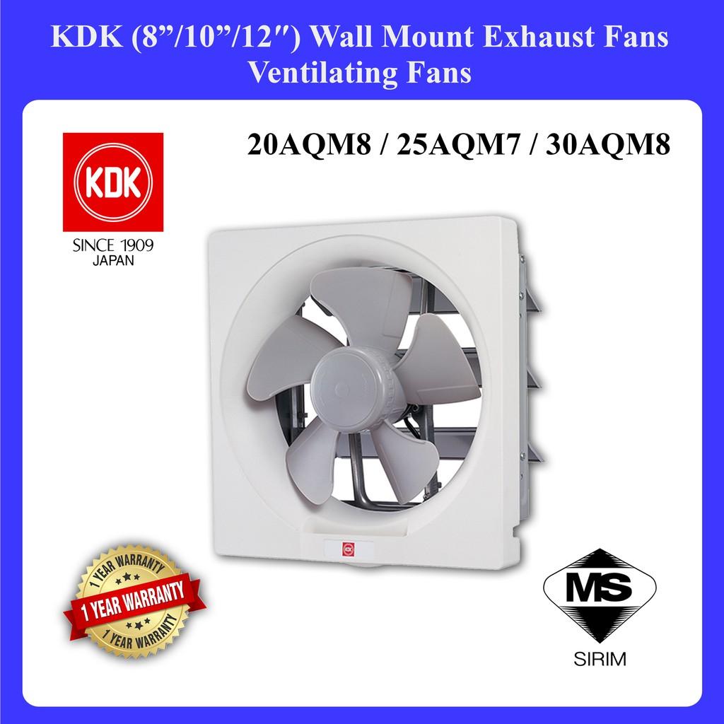 kdk 8 10 12 wall mount exhaust fan ventilating fan