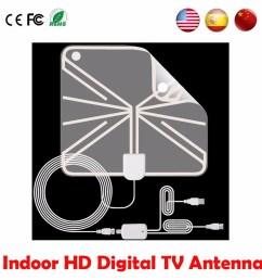 50 miles digital indoor tv antenna hd fox tvfox antena receiver hdtv analog aerial clear signal antenna shopee malaysia [ 900 x 900 Pixel ]