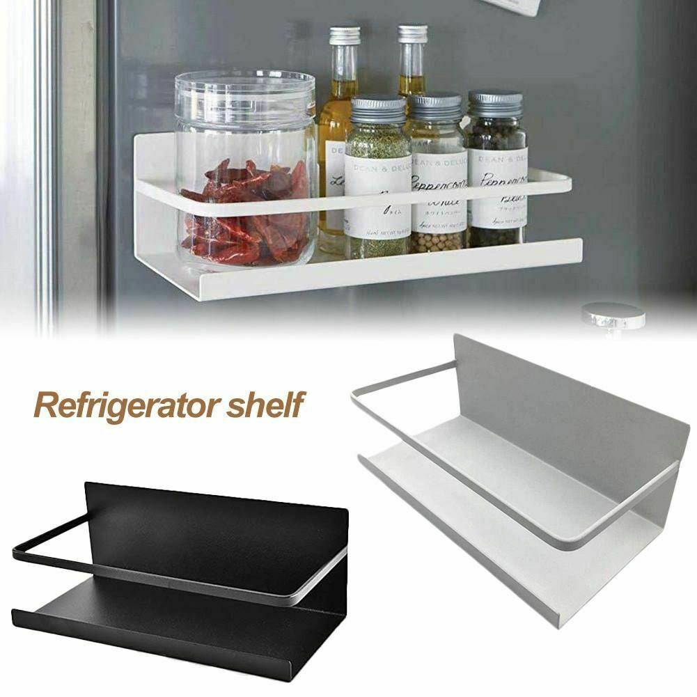 magnetic refrigerator side hanger rack spice holder storage shelf kitchen tool storage organizer