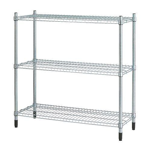 ikea omar adjustable storage rack shelving unit width 92cm
