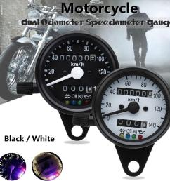 hot sale 12v 13000 rpm tachometer speedometer motorcycle led red blue shopee malaysia [ 1024 x 1024 Pixel ]