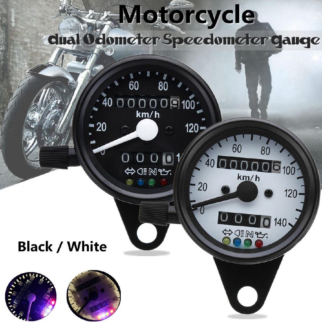 hight resolution of  hot sale 12v 13000 rpm tachometer speedometer motorcycle led red blue shopee malaysia