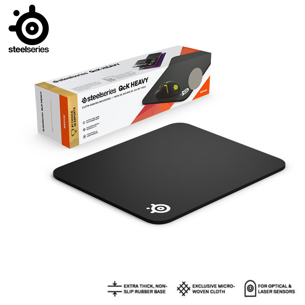 steelseries qck heavy medium gaming mouse pad 63836