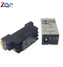 dc 12v h3y 2 8 pin dpdt 0 60s timing control time relay free holder shopee malaysia [ 1000 x 1000 Pixel ]