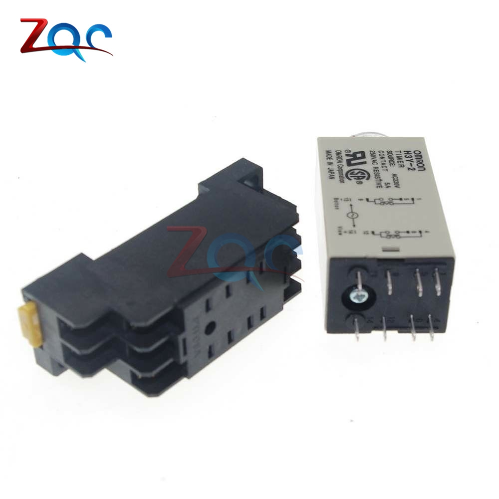 medium resolution of dc 12v h3y 2 8 pin dpdt 0 60s timing control time relay free holder shopee malaysia