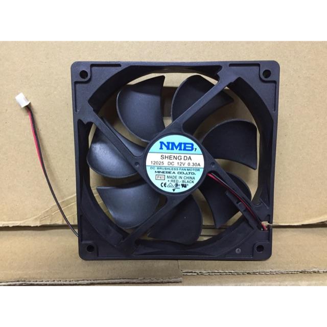 nmb 120mm x 120mm x 25mm refrigerator 12v dc exhaust fan motor