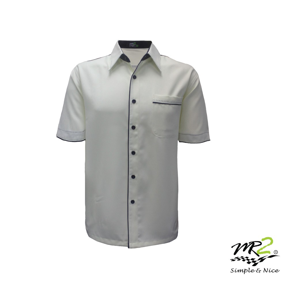 medium resolution of mr2 unisex polysoft corporate uniform beige navy fp 813 f shopee malaysia