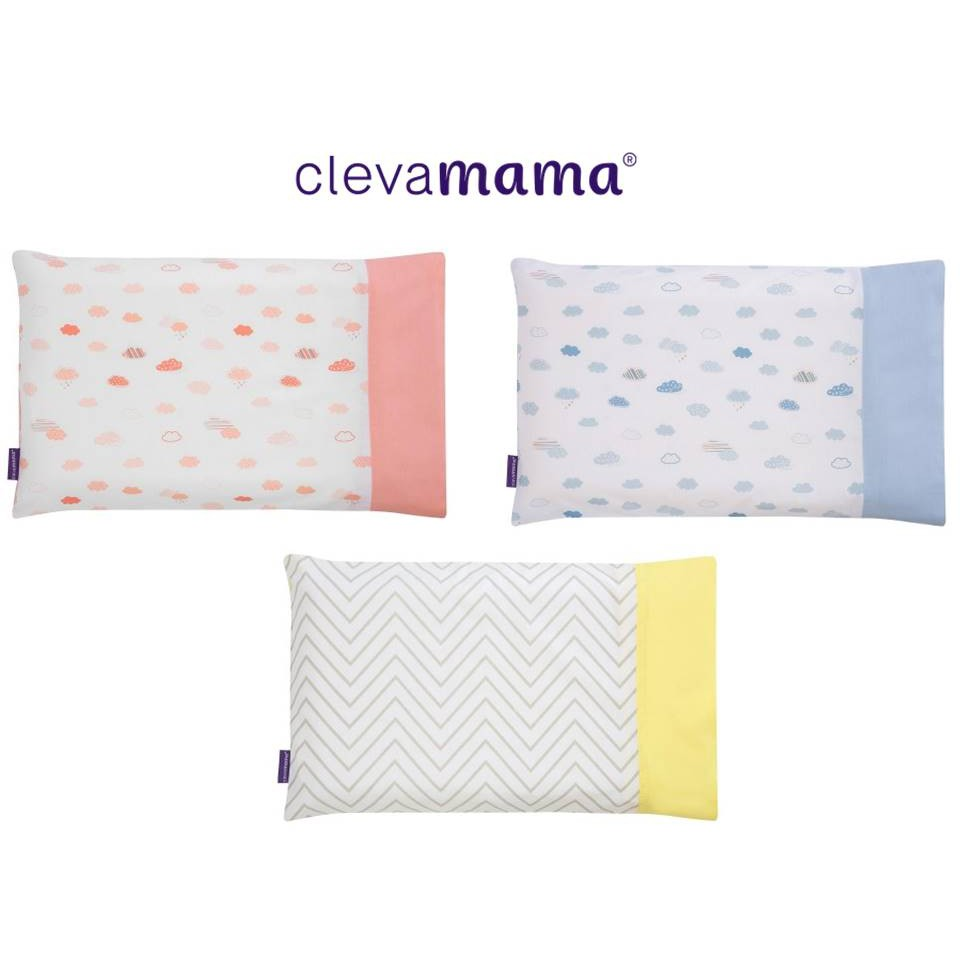clevamama clevafoam baby pillow case replacement cover