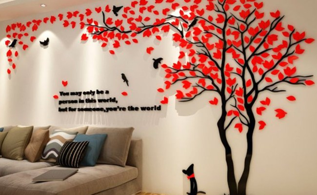 Dining Room Wall Stickers Home Furnishing 3d Wall Sticker