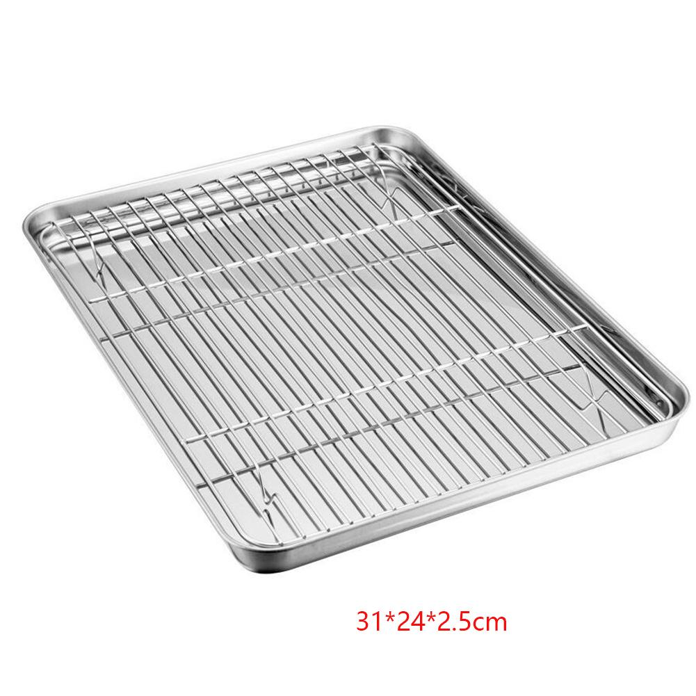 oven tray cooling rack baking grilled stainless steel