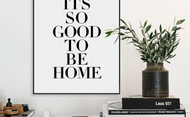 Bigman Typography Life Quotes Frameless Canvas Painting