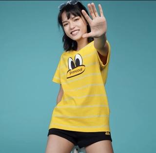 (預購10天工作日)PANCOAT2020春夏新款休閑男女同款條紋手繪大眼睛印花短袖T恤 | Shopee Malaysia