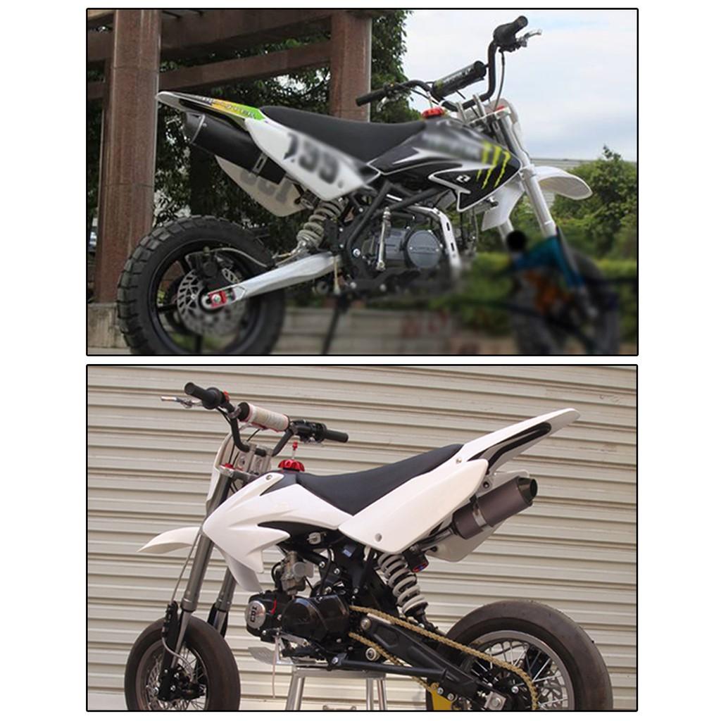 38mm motorcycle exhaust muffler pipe 125 150 160cc ssr crf50 dirt pit bike atv quad