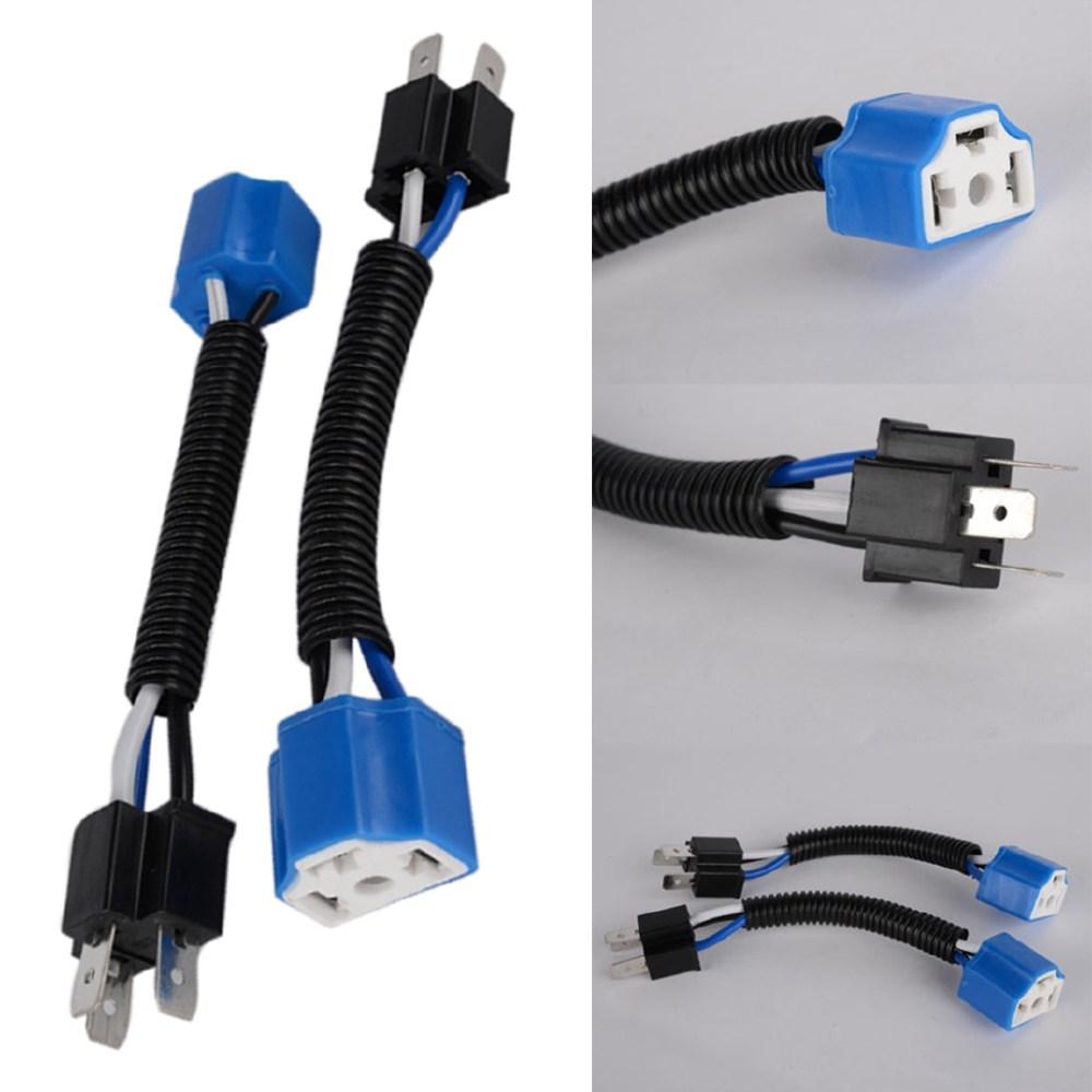 medium resolution of productimage productimage 2x h4 9003 headlight bulb ceramic socket plug connector wiring