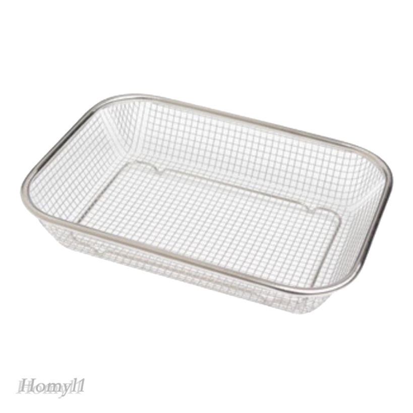 dish drainer rack storage drip tray sink drying wire plate strainer 30cm
