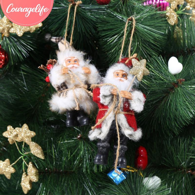 Cou Hanging Decoration Cute Christmas Tree Decorations Fashion Christmas Ornament Party Pendant Shopee Malaysia