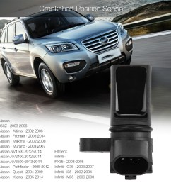 productimage productimage xinpin vehicle crankshaft position sensor for infiniti nissan  [ 1001 x 1001 Pixel ]