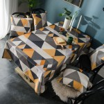 Waterproof Nordic Modern Minimalist Ins Table Cloth Rectangular Coffee Table Cloth Table Cloth Desk Cloth Round Table Cloth Shopee Malaysia