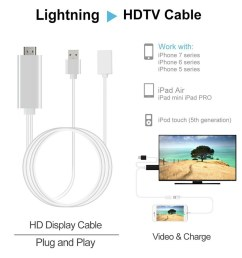 fizzwang universal phone hdmi durable cable portable adapter business meeting shopee malaysia [ 1001 x 1001 Pixel ]